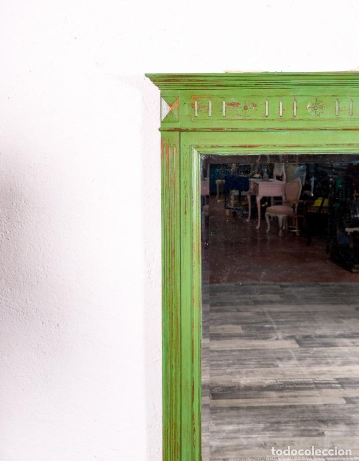 Antigüedades: Espejo Antiguo Restaurado Edouard - Foto 3 - 150737598