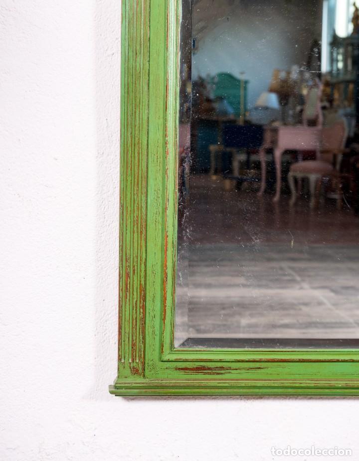 Antigüedades: Espejo Antiguo Restaurado Edouard - Foto 4 - 150737598
