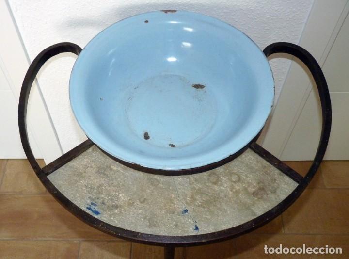 Antigüedades: ANTIGUO MUEBLE LAVABO PALANGANERO AL ESTILO THONET. CIRCA 1900 - Foto 3 - 150750130