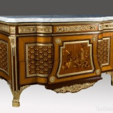 Antiquités: COMODA ESTILO TRANSICIÓN S. XX. Lote 150748500