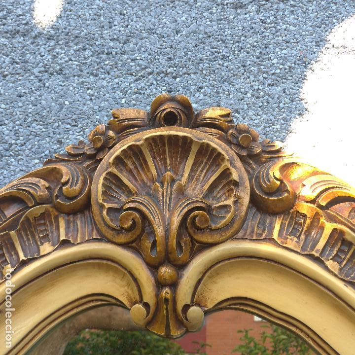Antigüedades: Consola y espejo estilo barroco Luis XV - Foto 8 - 150766738