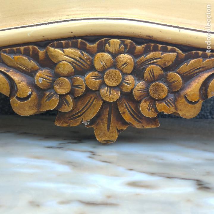 Antigüedades: Consola y espejo estilo barroco Luis XV - Foto 9 - 150766738