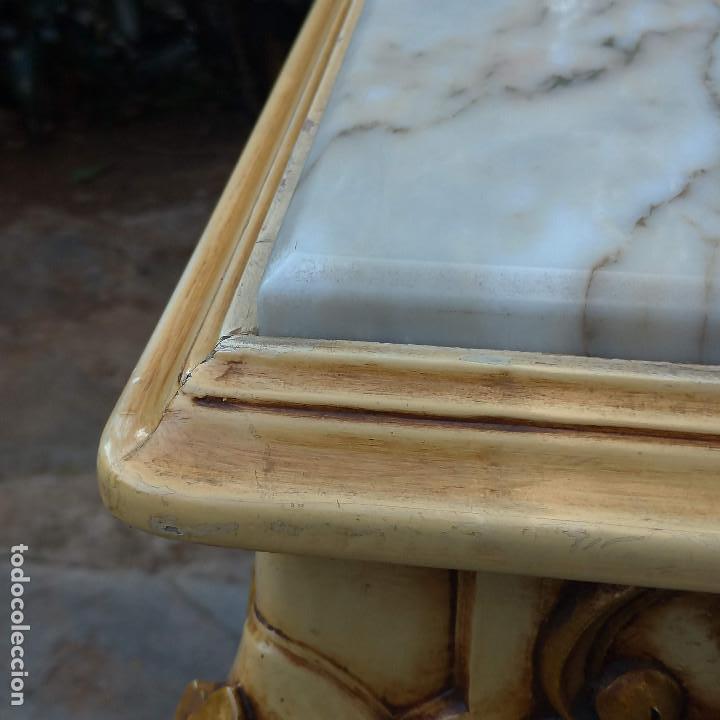 Antigüedades: Consola y espejo estilo barroco Luis XV - Foto 18 - 150766738