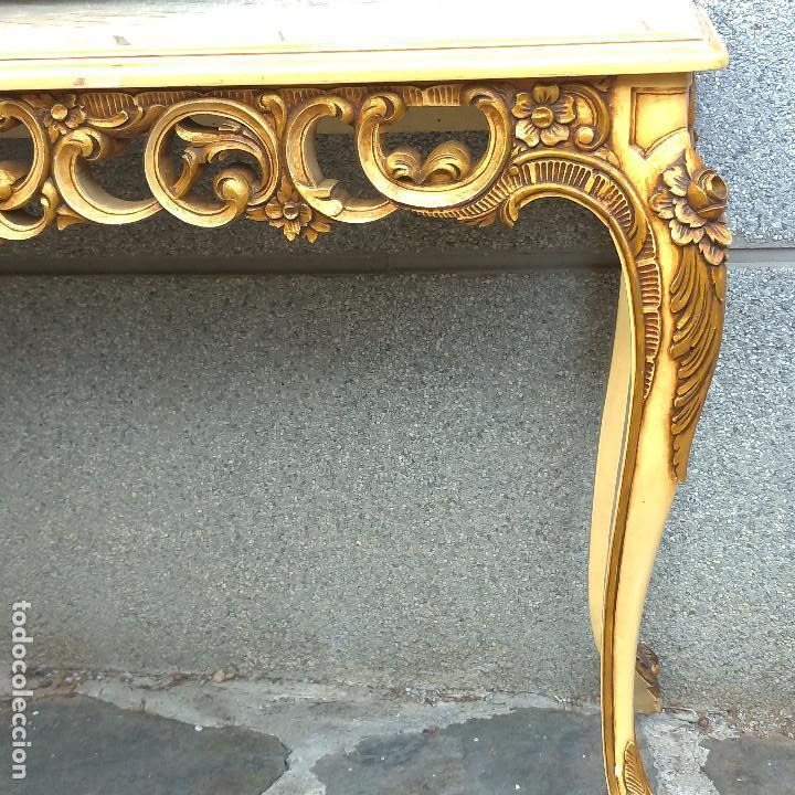 Antigüedades: Consola y espejo estilo barroco Luis XV - Foto 20 - 150766738