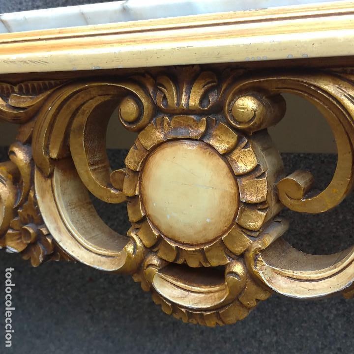 Antigüedades: Consola y espejo estilo barroco Luis XV - Foto 30 - 150766738