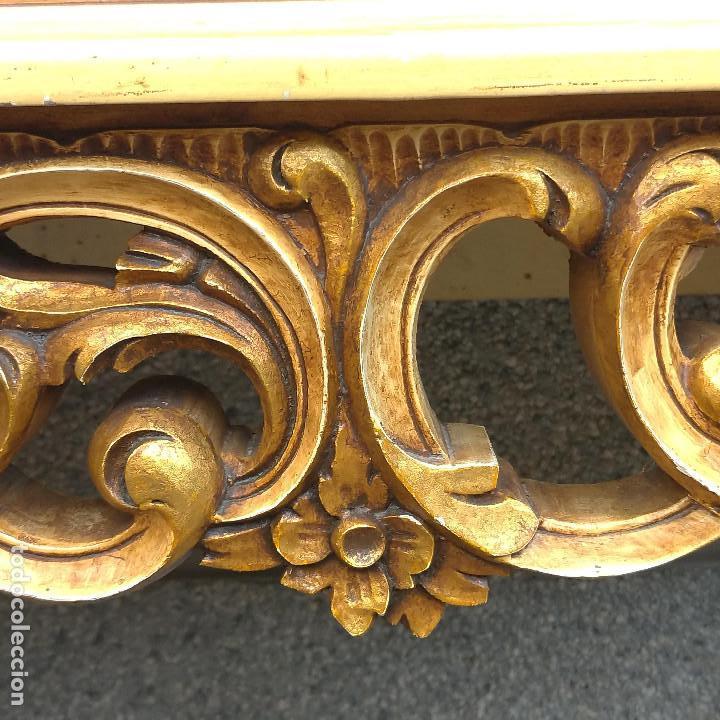 Antigüedades: Consola y espejo estilo barroco Luis XV - Foto 31 - 150766738