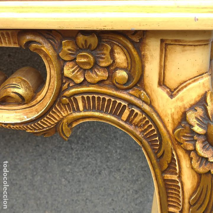 Antigüedades: Consola y espejo estilo barroco Luis XV - Foto 32 - 150766738