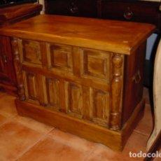 Antigüedades: ARCON RUSTICO EN MADERA DE PINO CON CUARTERONES . Lote 150777574