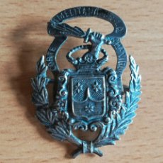 Oggetti Antichi: INSIGNIA CORTE CARMELITANA DE LA MA VIRGEN - ORDEN CARMELITA - PLATA - ESPADA DE FUEGO CARMELITAS. Lote 150819313