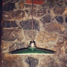 Antigüedades: LÁMPARA INDUSTRIAL VINTAGE. Lote 150819498