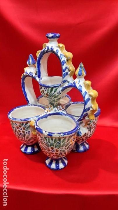 INTERESANTE PIEZA. ESPECIERO DE ANDUJAR. (Antigüedades - Porcelanas y Cerámicas - Lucena)