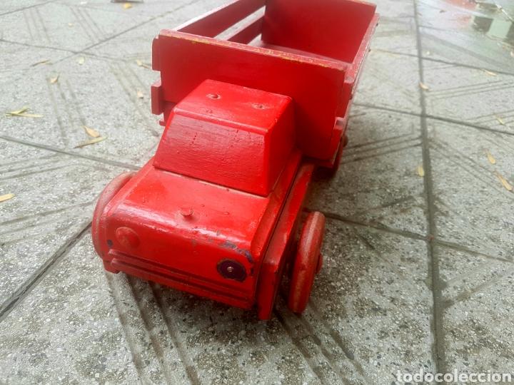 Antigüedades: Antiguo camion de juguete fundación Eva Perón - Foto 2 - 150850017