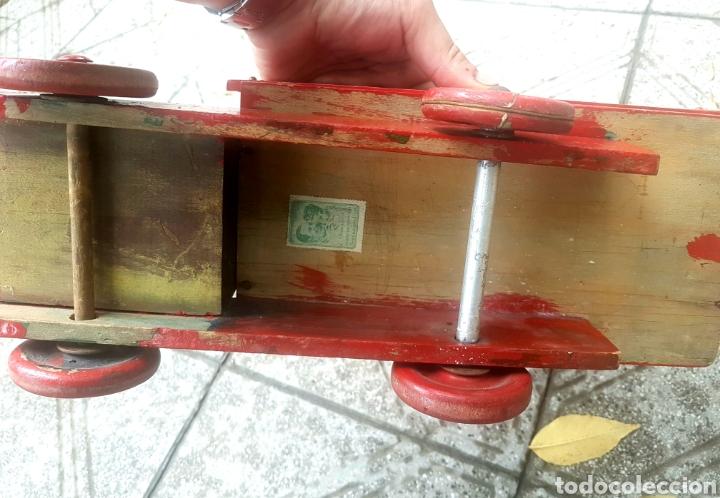 Antigüedades: Antiguo camion de juguete fundación Eva Perón - Foto 4 - 150850017