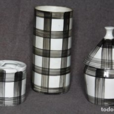 Antigüedades - Lote de tres piezas de cerámica de O Castro (Sargadelos) (Sada, A Coruña) - 150862618
