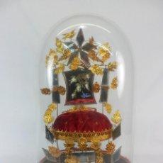 Antigüedades: GRAN GLOBE DE MARIÉE - FANAL DE DESPOSORIO - FRANCIA SXIX REGALO DE NUPCIAS BODAS. Lote 150936238
