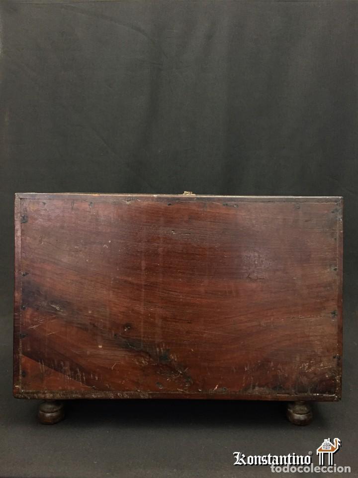 Antigüedades: Magnífico bargueño castellano - Foto 3 - 150945030