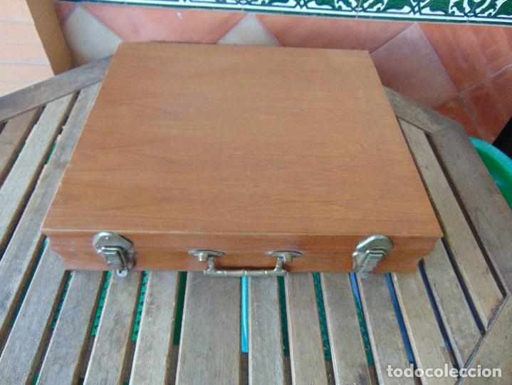 Para Similares Caja Guardar Objetos Cuberteria Madera O De jRLA54