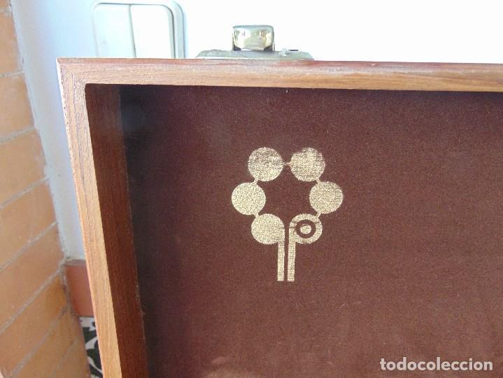 Antigüedades: CAJA DE MADERA PARA CUBERTERIA O PARA GUARDAR OBJETOS SIMILARES - Foto 13 - 259260900