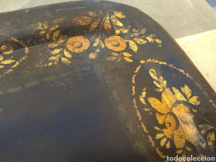 Antigüedades: Bandeja Isabelina - Foto 7 - 150958812