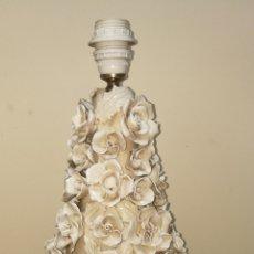 Antigüedades: PRECIOSA LAMPARA DE MANISES TIPO FLORAL. Lote 150967998