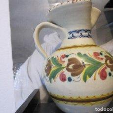 Antigüedades: JARRA MUY ANTIGUA DE CERAMICA PINTADA A MANO. Lote 150974390