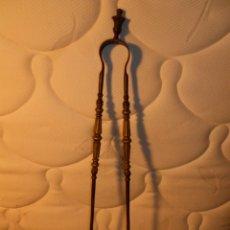 Antigüedades: PINZAS CHIMENEA. Lote 150974566