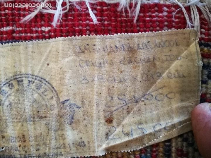 Antigüedades: GRAN ALFOMBRA PERSA KASHAN. LANA ANUDADA A MANO. IRAN. CIRCA 1930-50 -REF-1AC - Foto 16 - 151005162