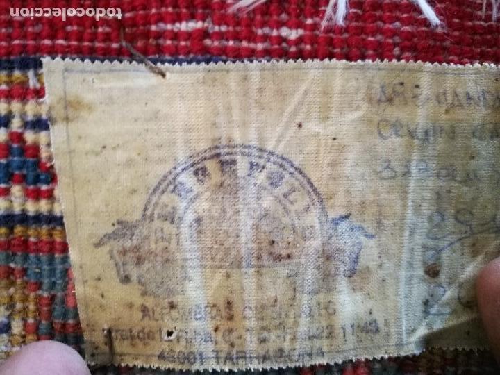 Antigüedades: GRAN ALFOMBRA PERSA KASHAN. LANA ANUDADA A MANO. IRAN. CIRCA 1930-50 -REF-1AC - Foto 17 - 151005162