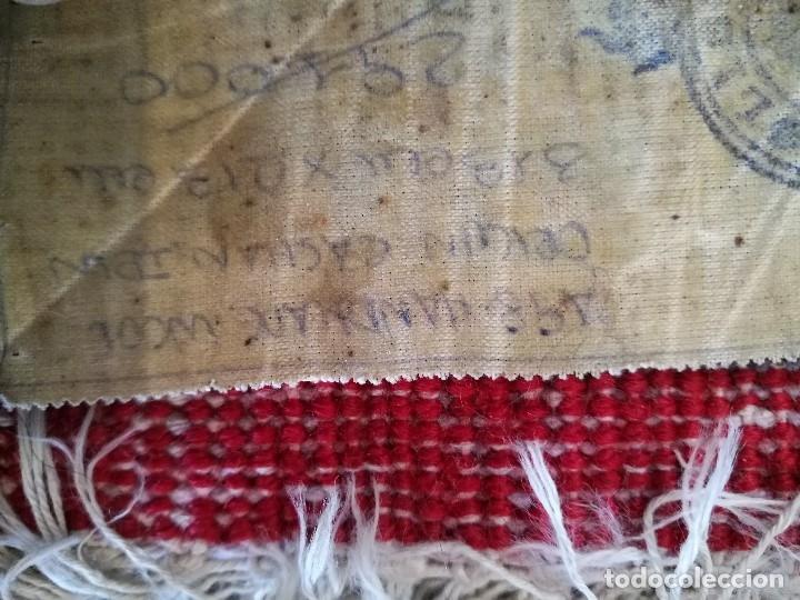 Antigüedades: GRAN ALFOMBRA PERSA KASHAN. LANA ANUDADA A MANO. IRAN. CIRCA 1930-50 -REF-1AC - Foto 18 - 151005162