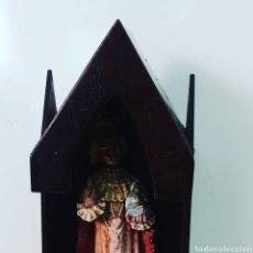 Antiquitäten - Capilla artesana con santo - 151018829