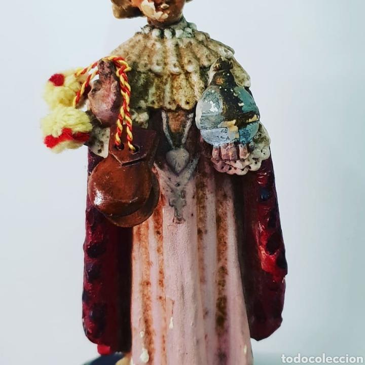 Antigüedades: Capilla artesana con santo - Foto 3 - 151018829