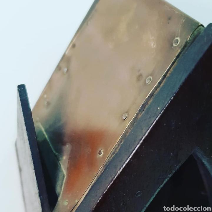 Antigüedades: Capilla artesana con santo - Foto 5 - 151018829