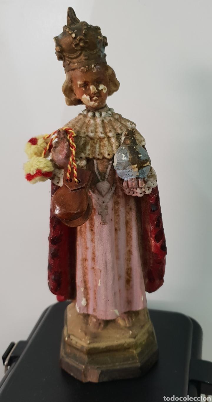 Antigüedades: Capilla artesana con santo - Foto 8 - 151018829