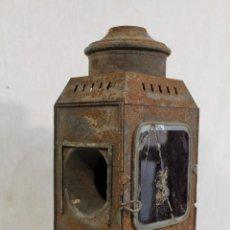 Antigüedades: FAROL ANTIGUO DE CARRUAJE. Lote 180989467