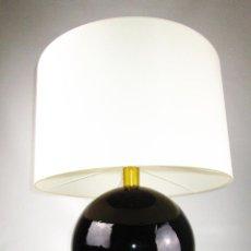 Antigüedades: ELEGANTISIMA LAMPARA GLOBO CERAMICA MANISES AÑOS 60 . Lote 151057310