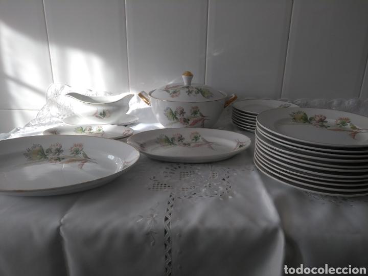 Antigüedades: Preciosa vajilla de San Claudio - Foto 2 - 175996982