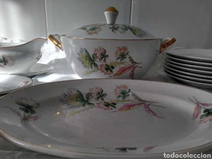 Antigüedades: Preciosa vajilla de San Claudio - Foto 3 - 175996982