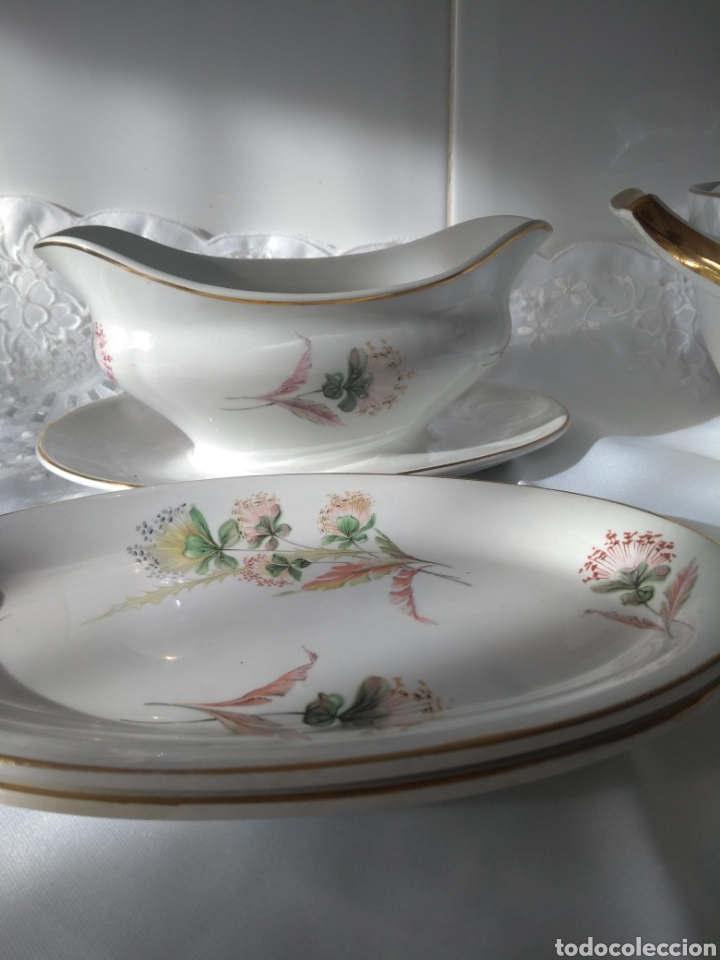 Antigüedades: Preciosa vajilla de San Claudio - Foto 10 - 175996982