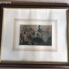 Antigüedades: CUADRO 1864 JOHNN LEECH. Lote 151083133
