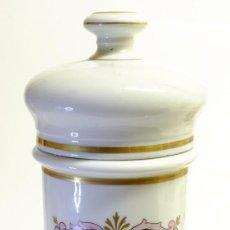 Antigüedades: 1877 BOTÁMEN ALBARELO MODESTO CASADEMUNT - IMPRESIONANTE TARRO DE FARMACIA. Lote 151089554