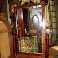 Antigüedades: ESPEJO, TOCADOR DE SOBREMESA ANTIGUO . Lote 151092058