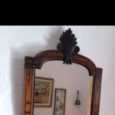 Antigüedades: PRECIOSO ESPEJO ISABELINO DE COLGAR. Lote 151101122