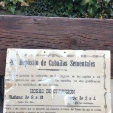 Antigüedades: MILITAR, CABALLERIA,. Lote 151107226