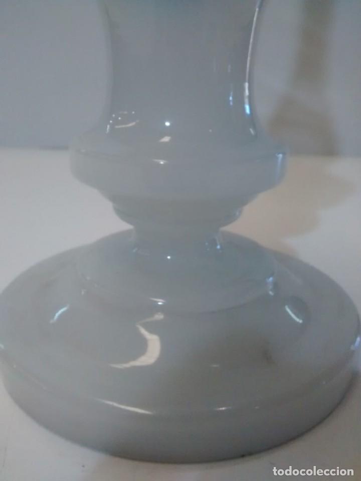 Antigüedades: QUINQUE OPALINA BLANCA - Foto 6 - 151144290