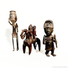 Antigüedades: FIGURAS AFRICANAS - MERCANTIC. Lote 151145376