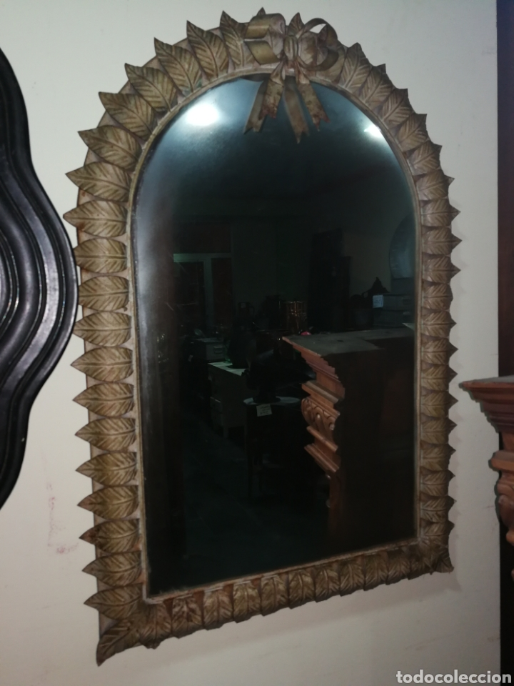 ESPEJO DE FORJA (Antigüedades - Muebles Antiguos - Espejos Antiguos)