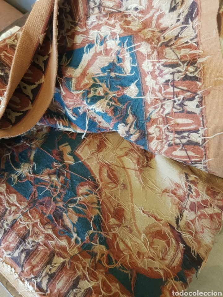 Antigüedades: Alfombra Aubusson tejida manualmente. Siglo XX. Lana 100% - Foto 3 - 27485881