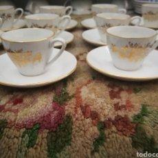 Antigüedades: JUEGO DE CAFE DE 12 TAZAS. Lote 151220978