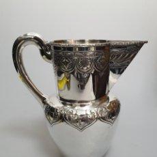 Antigüedades: JARRA EN PLATA LEY MARCADA CON CONTRASTE. Lote 151234382