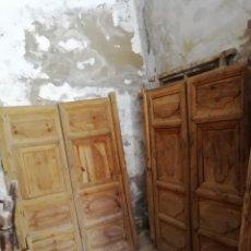 Antigüedades: 2 PAREJAS DE PUERTAS ANTIGUAS. Lote 151240816